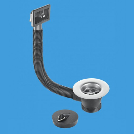 Mcalpine Fsw2pr 70 Sink Combined Waste And Overflow